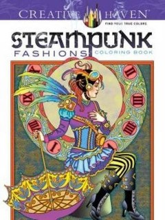 Dover Creative Haven Steampunk Fashions Coloring Book Adult Price In Qatar QAR 2017 9 September Valid Doha Fereej Abdel Aziz