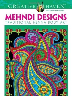 Dover Creative Haven Mehndi Designs Coloring Book Adult Price In Qatar QAR 2017 9 September Valid Doha Fereej Abdel Aziz
