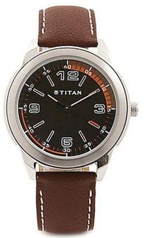 Titan Men Black Watches